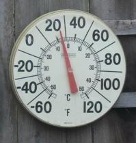 Garden 'telemetry': 24 degrees right here in California...!