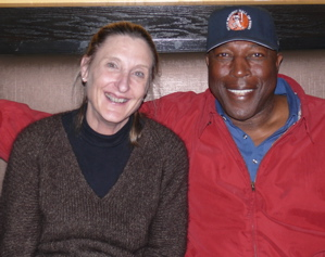 Linda and Willie McCovey at Tapa s and Wine, in Palo Alto