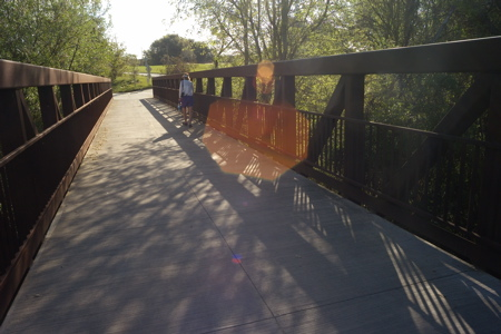 Bridge over San Francisquito Creek