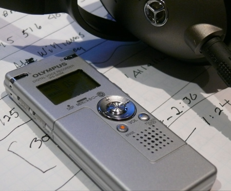 OLympus WS 300 recorder