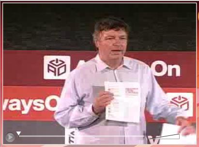 Tony Perkins announces Democratization of Media session