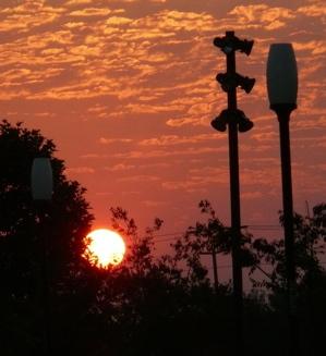 Davis sunrise