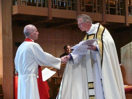 Mike Spillane, Bishop Marc Andrus