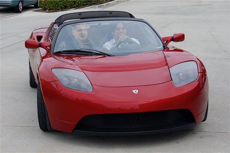 Chris in Tesla