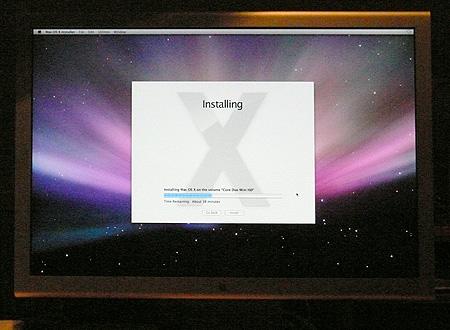 Leopard installer screen