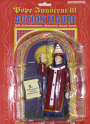 Pope Innocent III action figure