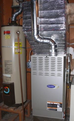The new furnace