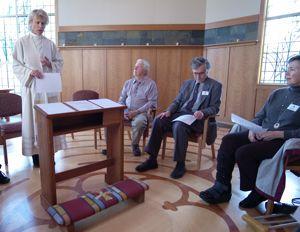 Trinity healing service