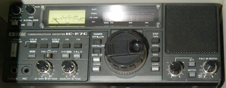 Icom ic-r70 shortwave receiver