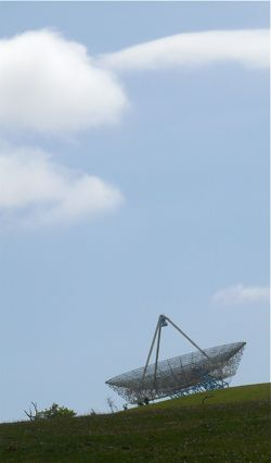 Big Dish and sky