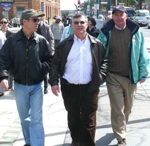 Jon, Stuart and Jim on the Embarcadero