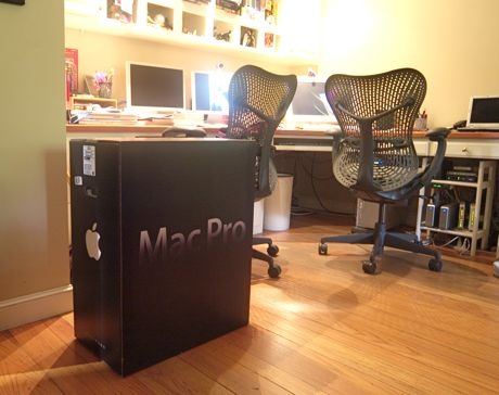 Mac Pro box comes home