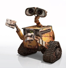 Wall-E courtesy Pixar/Disney
