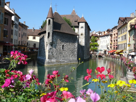 View of Annecy's Vieux Ville