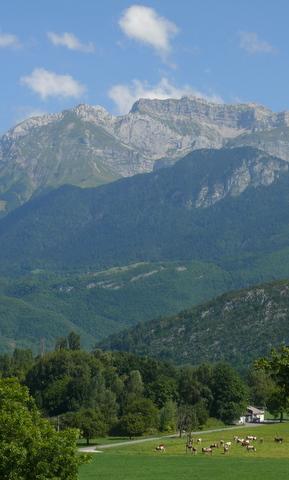 Scene from St. Jorioz, near Annecy, France