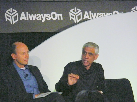 Vinod Khosla (right)