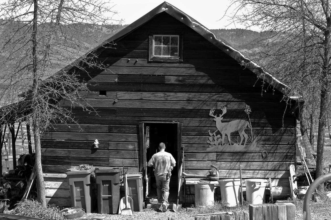 An old barn in Saskatchewan, a photo essay….